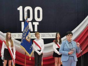 100-lecie SP w Radostkowie